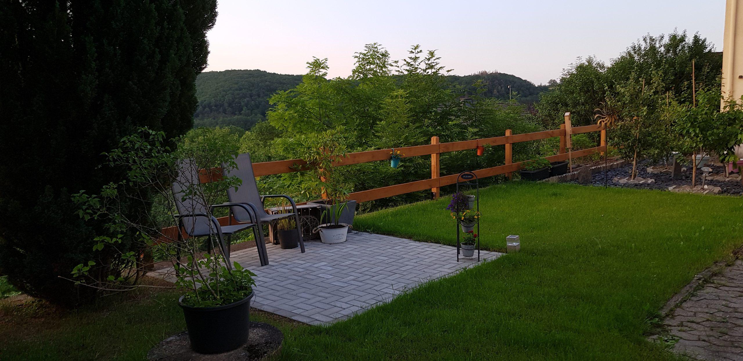ferienwohnung eifel waldblick terrasse